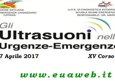 Gli ultrasuoni nelle Urgenze-Emergenze, 6 e 7 Aprile allo Sheraton