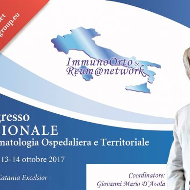 Reumatologia Nazionale a Catania 13 14 Ottobre