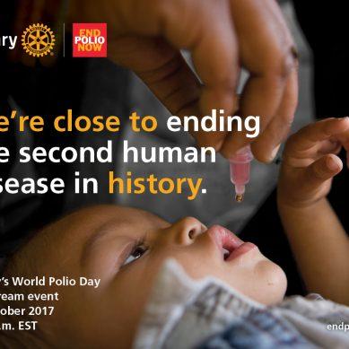 La Giornata mondiale della Polio