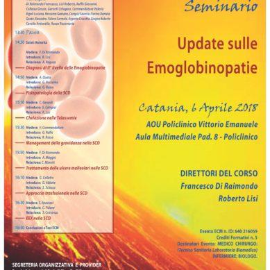 Aggiornamenti sulle Emoglobinopatie il 6 Aprile al Policlinico