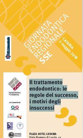 Giornata endodontica regionale il 5 Maggio a Catania