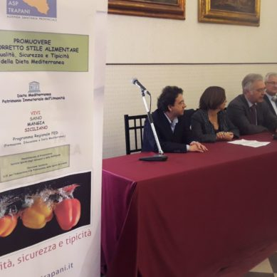 """ASP Trapani promuove """"CIBOLI'"""" per una dieta mediterranea"""