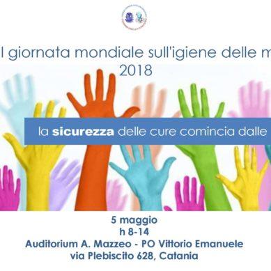 Giornata mondiale dell'igiene delle mani il 5 Maggio