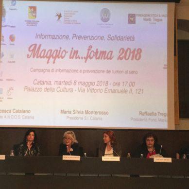 """""""Maggio In…forma"""" per la prevenzione senologica"""