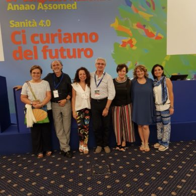 La delegazione catanese al Congresso nazionale ANAAO di Roma