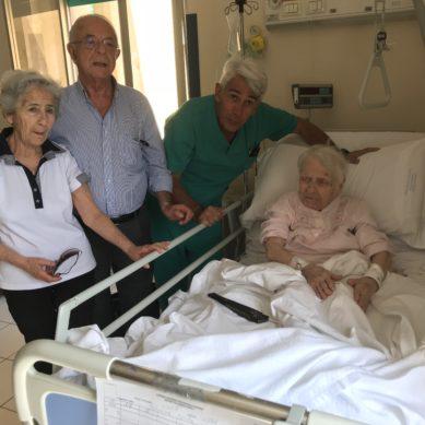 Ragusa, operata al femore a 103 anni