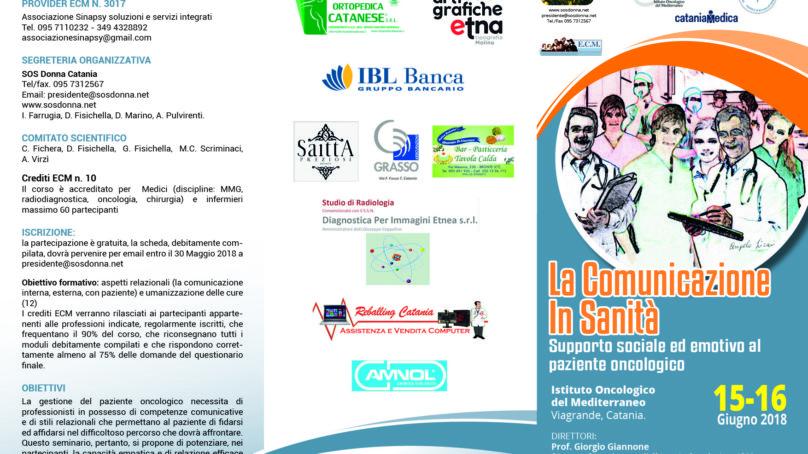 """""""Comunicazione in sanità"""" allo IOM il 15 e 16 Giugno"""
