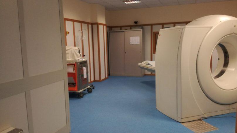 La nuova radiodiagnostica dell'Ospedale di Caltagirone