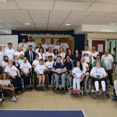 L'Unità Spinale del Cannizzaro ricorda giovane paziente con un evento sportivo