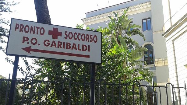 L'assistenza del paziente in diretta al Garibaldi Centro