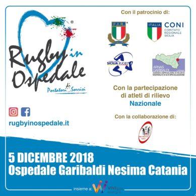 La Nazionale Italiana di Rugby al Garibaldi Nesima