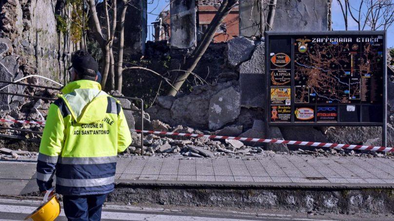 Sostegno ASP nelle zone colpite dal sisma di Natale