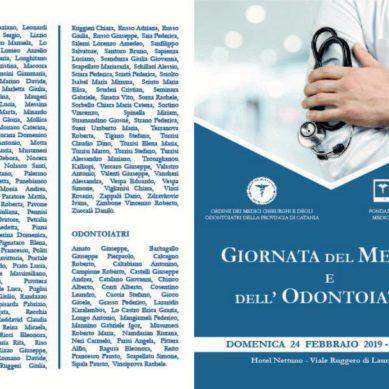 Giornata del Medico e dell'Odontoiatra Domenica 24 ore 9 al Nettuno