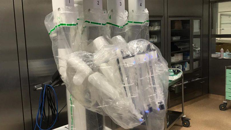 Chirurgia robotica per rara forma di tumore pancreatico