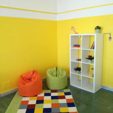 Caltagirone, nuova area ricreativa in Pediatria