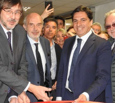 Università: l'Aula Magna della Torre biologica intitolata a Umberto Scapagnini