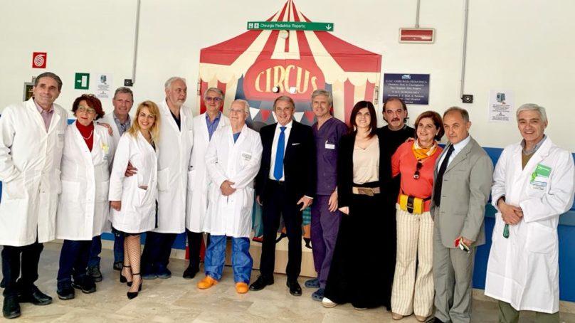 Garibaldi Nesima: colori circensi per la chirurgia pediatrica