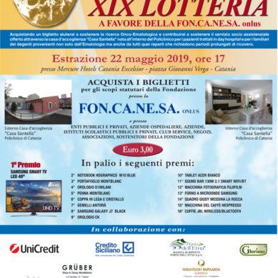 Estrazione finale della Lotteria di beneficienza per la FONCANESA