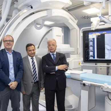 La Neuroradiologia del Cannizzaro dotata di angiografo biplanare