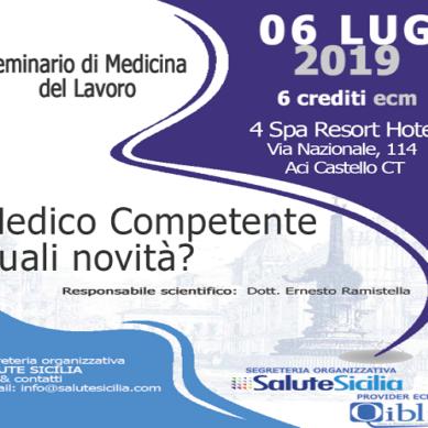 Seminario di medicina del lavoro il 6 Luglio