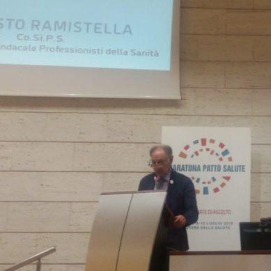"""Ramistella interviene alla """"Maratona Patto per la Salute"""""""