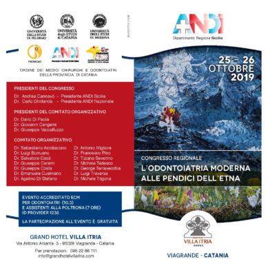 Congresso regionale ANDI il 25-26 Ottobre