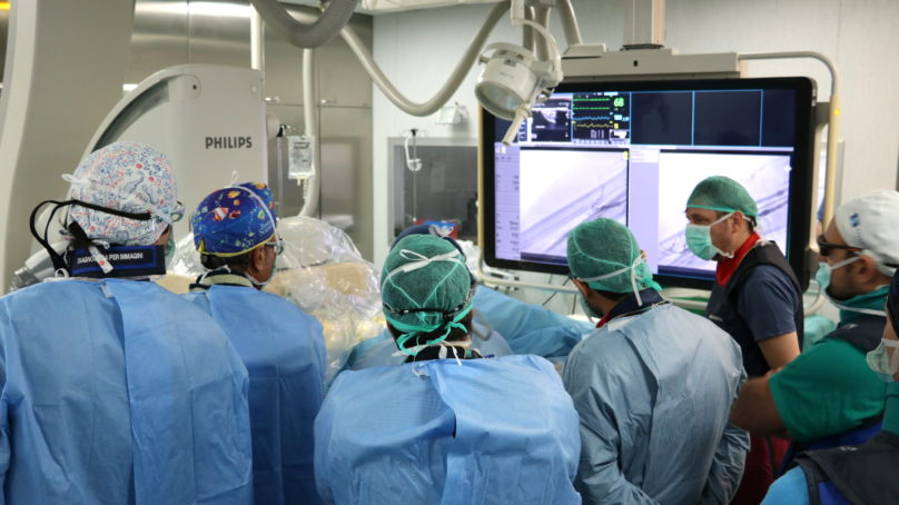 Cannizzaro, fistola arterovenosa incruenta per gli emodializzati