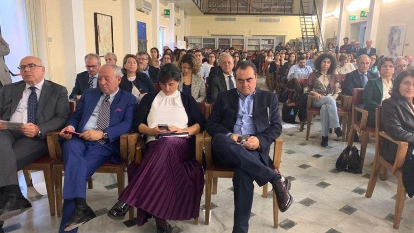 Cacopardo, Iacobello e Liberti alla presentazione di ICARETE