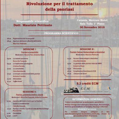 Meeting sul trattamento della psoriasi il 30 Novembre al Mercure