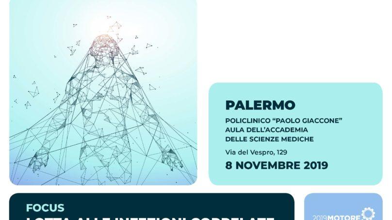 Cacopardo, Iacobello e Liberti al Focus infettivologico di Palermo