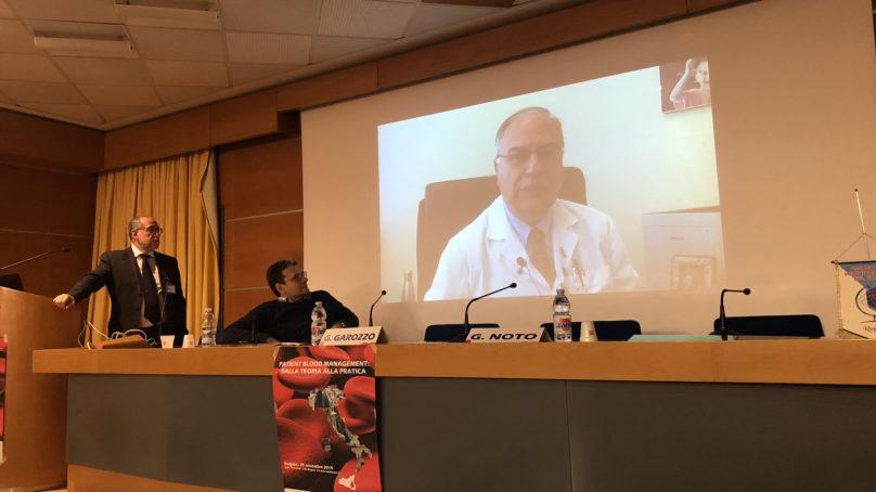 Università: Di Raimondo presenta il primo master di Medicina Trasfusionale