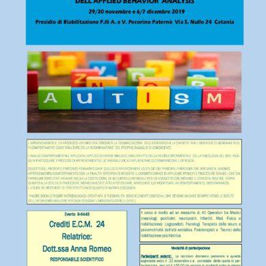 Seminari sull'autismo dell'ODA a Novembre e Dicembre