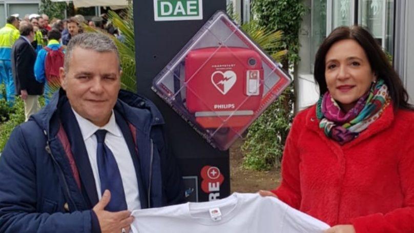 Defibrillatore in Piazza Teatro Massimo