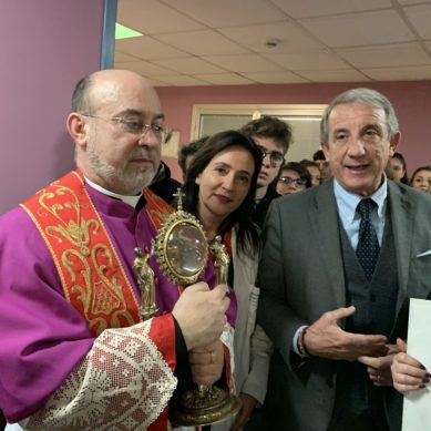 "La reliquia di Sant'Agata al ""Garibaldi"""