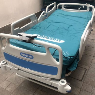 """Covid-19, letto per terapia intensiva donato al """"Cannizzaro"""""""
