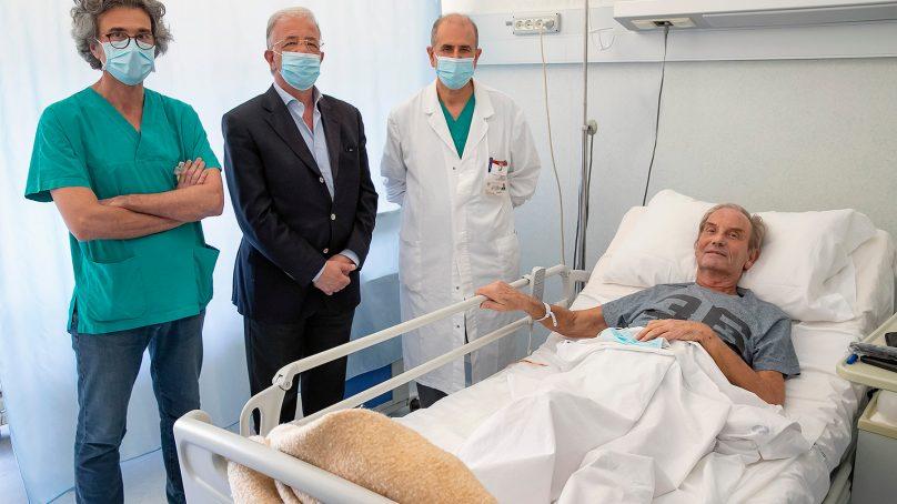 Cannizzaro, dimesso dalla Chirurgia paziente Covid-19