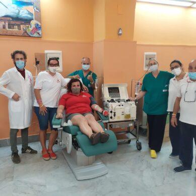 """Al Trasfusionale del """"Garibaldi""""  il primo plasma iperimmune anti-Covid-19"""