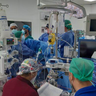 Policlinico, intervento cardiochirurgico in urgenza su paziente Covid