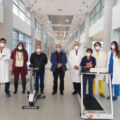 San Marco, riabilitazione respiratoria in pazienti COVID