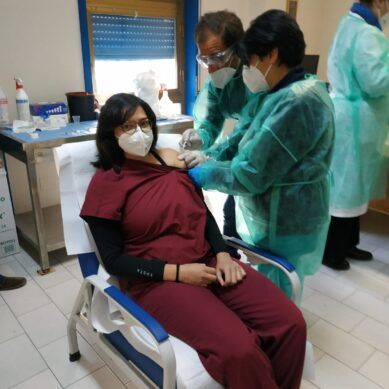 Vaccinazioni COVID, l'ASP supera quota diecimila