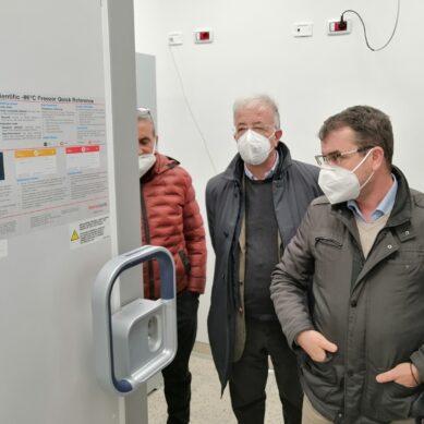 Cannizzaro, completa catena del freddo per i vaccini Pfizer anti-COVID