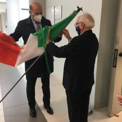 """Al """"San Marco"""" il tricolore dei Cavalieri della Repubblica"""