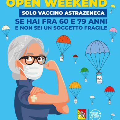 Vaccini senza prenotazione dal 16 al 18 Aprile