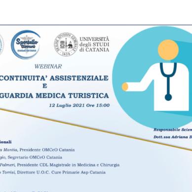 Webinar: Continuità Assistenziale e Guardia Medica Turistica