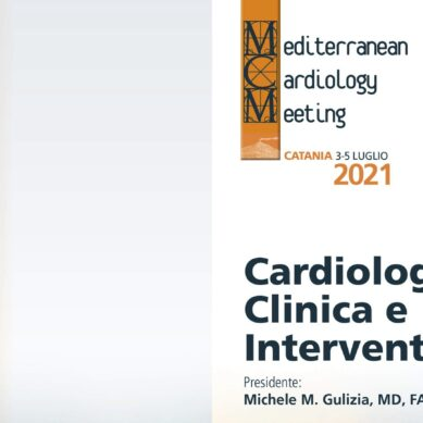 "10° Edizione del ""Mediterranean Cardiology Meeting"" : dal 3 al 5 luglio al Four Points by Sheraton Catania Hotel"
