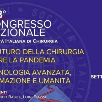 """""""Il futuro della chirurgia oltre la pandemia"""": dal 26 al 29 settembre alle Ciminiere il congresso nazionale"""