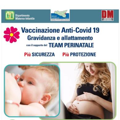 """Vaccinazione anti-Covid-19: punto vaccinale dedicato al """"Garibaldi-Nesima"""" per donne in gravidanza e in allattamento"""